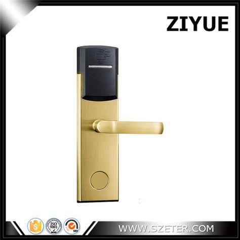 Digital Electric Cheap Intelligent Rfid Card Hotel Door Lock Et104rf Hotel Door Locks Door Locks Hardware