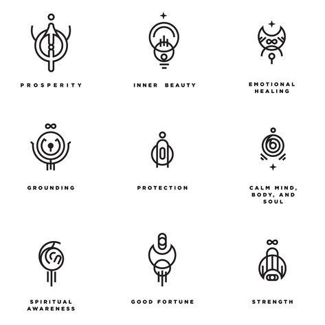 little moon's grimoire Witch Symbols, Magic Symbols, Symbols And Meanings, Ancient Symbols, Viking Symbols, Egyptian Symbols, Viking Runes, Witchcraft Symbols, Wicca Tattoo