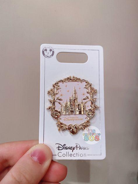 New & Exclusive to Shanghai Disneyland Disney Pin Trading, Disney Princess Jewelry, Disney Jewelry, Punk Princess, Disneyland Castle, Disneyland Pins, Disney Stitch, Cute Disney, Disney Style