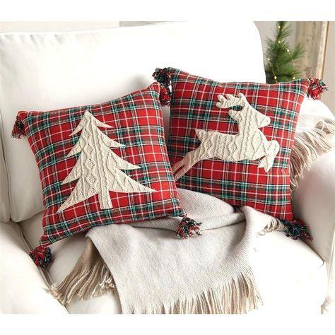 Stylish and Easy DIY Christmas Pillows