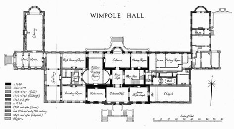 Wimpole British History Online Architectural Floor Plans English Architecture How To Plan