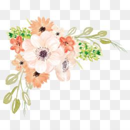 Watercolor Flower Png And Psd Free Download Flower Clip Art