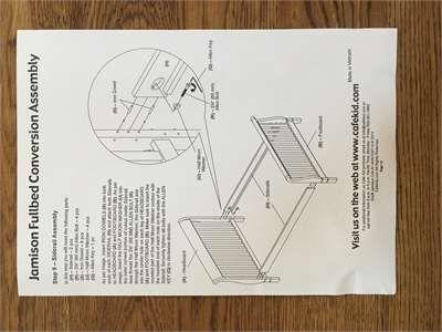 Solved Do You Have Instructions For The Cafe Kids Devon 4 Fixya Pottery Barn Crib Kids Devon