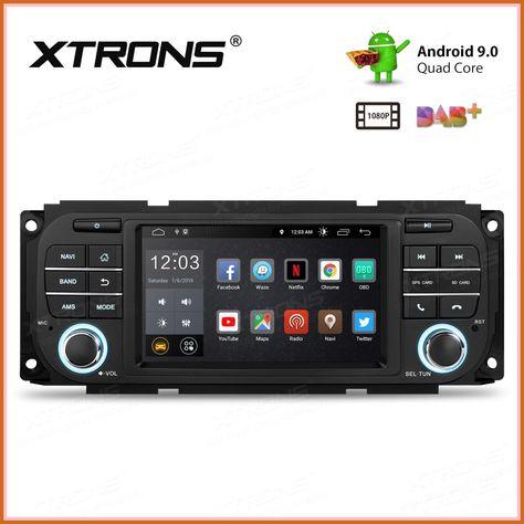 Top Xtrons 5 Android 9 0 Car Radio Stereo Player For Jeep Grand Cherokee Liberty Wrangler For Chrysler For Dodge Gps Navigation 2020