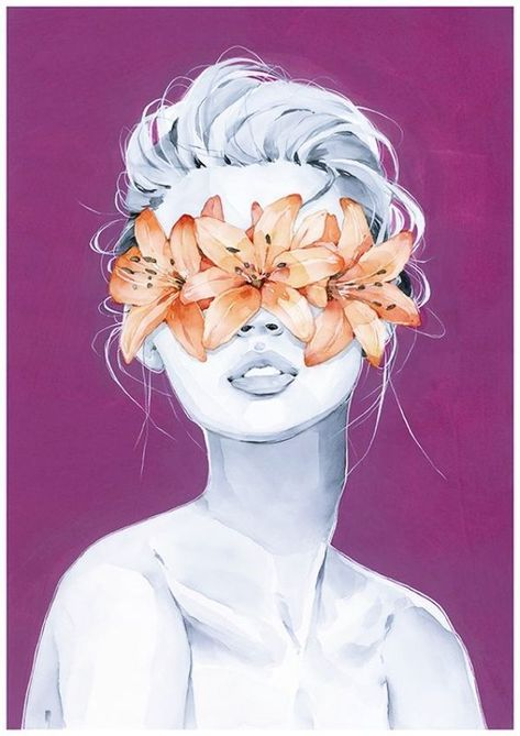 40 Illustrations Et Peintures Realistes De Portraits A L Aquarelle