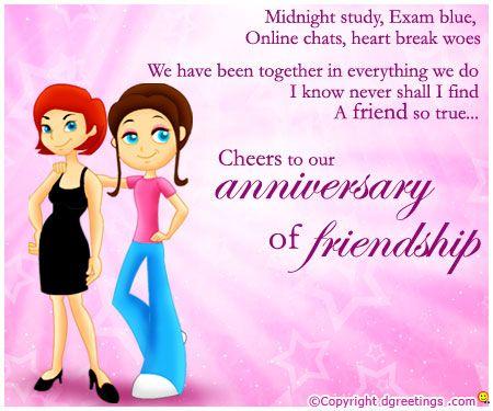 Dgreetings Happy Friendship Anniversary Inspiring Quote