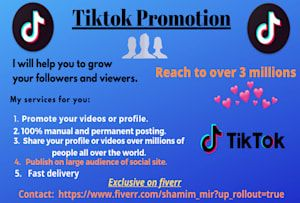 Fiverr Search Results For Tiktok Digital Marketing Fiverr Online Marketing
