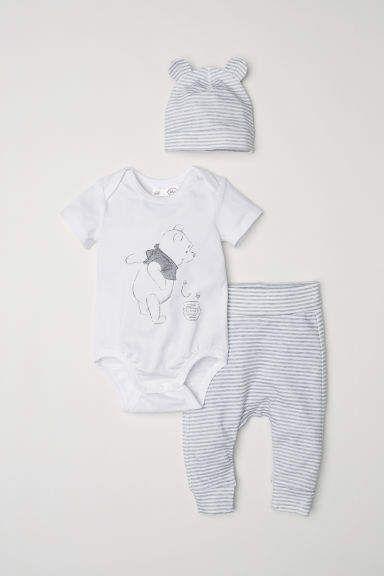 Three Piece Cotton Set Con Imagenes Ropa Infantil Para Nina