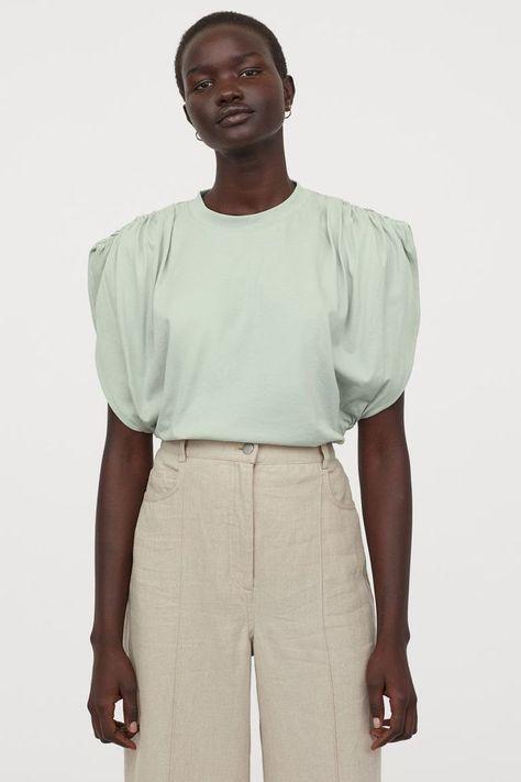 HM Puff-Sleeved T-Shirt