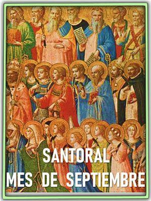 Oraciones Muy Milagrosas Santoral Mes De Septiembre Santoral San Mateo Evangelista Santoral Catolico