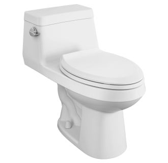 American Standard 2961a104sc 020 White Colony 1 28 Gpf One Piece Elongated Chair Height Toilet With Left Hand Lever Seat Included In 2020 One Piece Toilets Toilets And Sinks American Standard