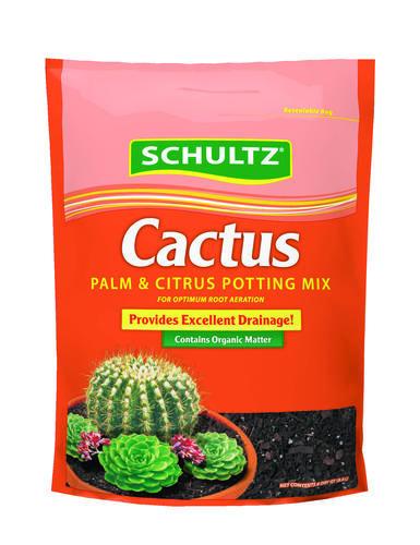 Schultz Cactus Potting Mix 8 Qt Potting Mix Compost Soil