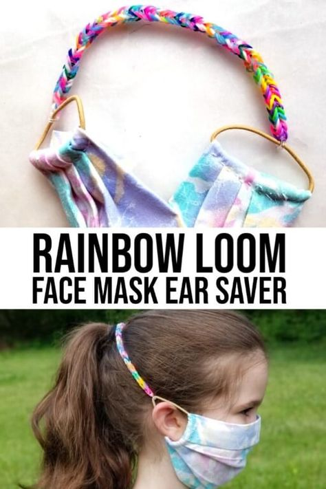 Easy Face Masks, Diy Face Mask, Rainbow Loom Bands, Easy Rainbow Loom Bracelets, Virtual Class, For Elise, Pocket Pattern, Boutique Bows, Diy Mask