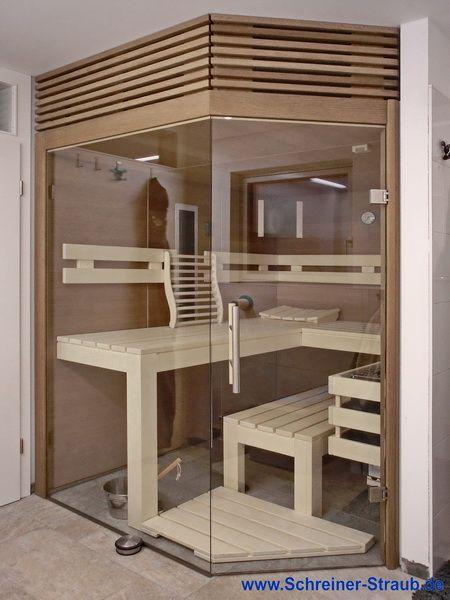 Kleine Badezimmer-Sauna mit Eckeinstieg in 2020 | Sauna ...