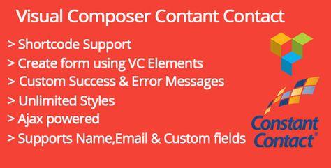 Visual Composer Constant Contact Addon | Codelib App