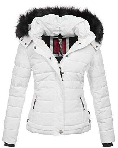 Navahoo warme Damen Winter Jacke Parka Mantel Stepp
