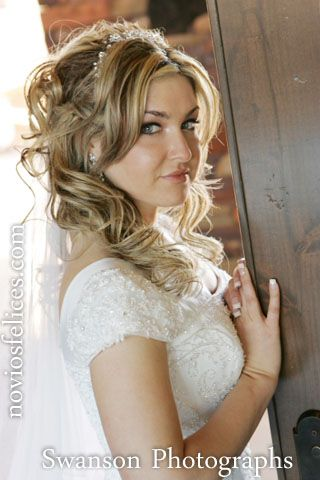 List Of Pinterest Peinados Para Novias Con Velo Semirecogido Images