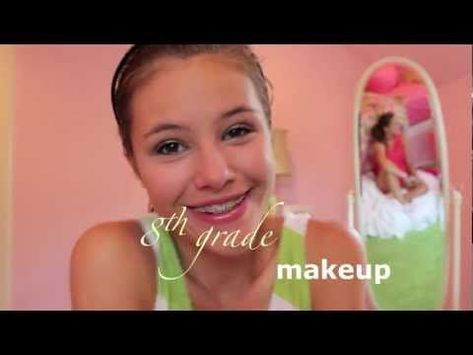 Best Ideas For Makeup Tutorials : This is a great 8th grade makeup tutorial! Click