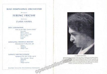 Clara  Concert Program