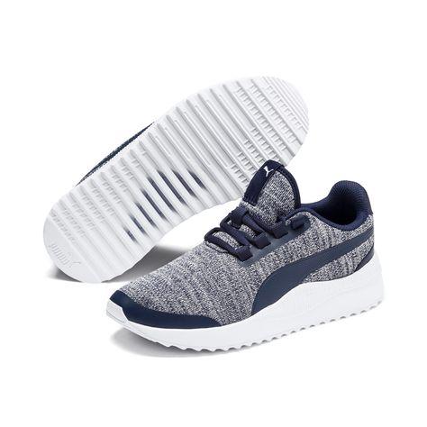 PUMA Chaussure Basket Pacer Next FS Knit pour enfant, Bleu