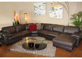 Carrera Natuzzi Leather Sectional With Chaise At Town Country Furniture Houston Living Room Pinterest