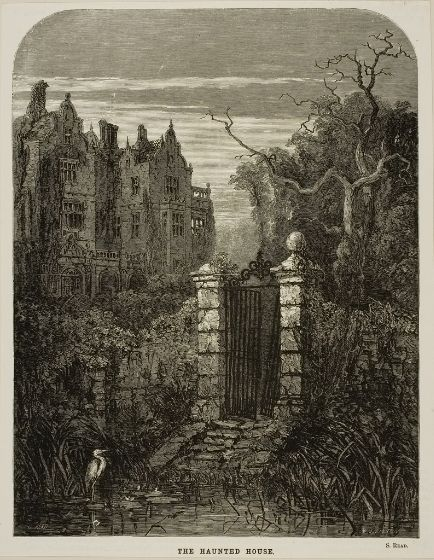 Image: William James Linton, Haunted House, 19th century, Harvard Art Museums/Fogg Museum.