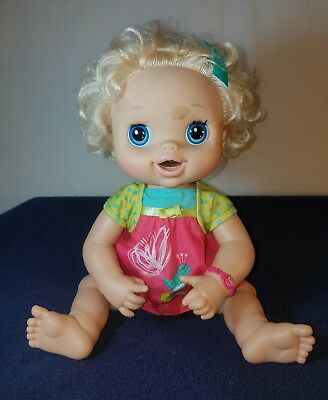 Hasbro Vintage 2010 Baby Alive Doll Real Surprises Eat Drink Wet Pees Diapers Baby Alive My Life Doll Accessories Baby Girl Dolls