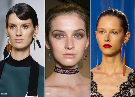 Spring/ Summer 2016 Jewelry Trends: Different Earrings  #trends #accessories #jewelry