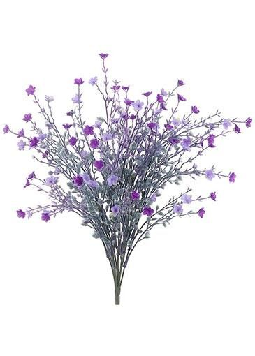 Artificial Star Flower Bush In Purple And Lavender 19 Tall Purple Wedding Flowers Wedding Flower Guide Flowers