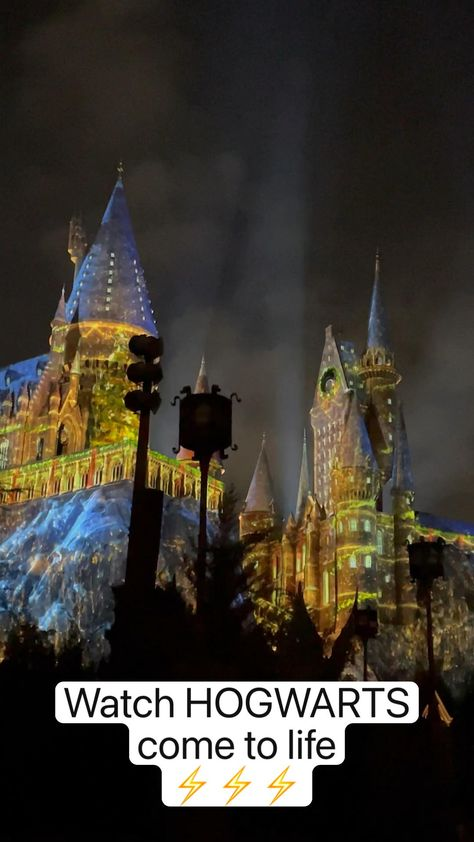 Watch HOGWARTS  come to life ⚡�⚡�⚡�