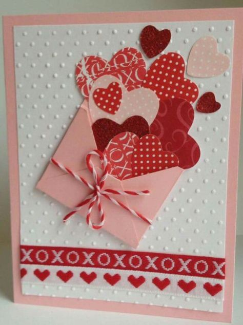 Envelope valentine card