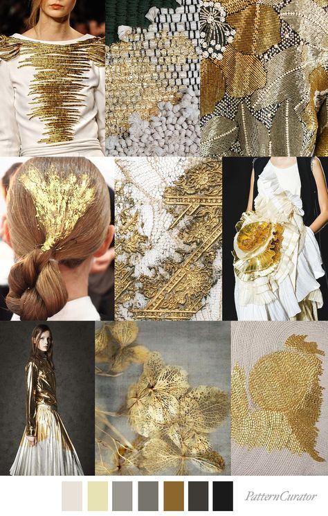 ARTISAN GOLD - color, print & pattern trend inspiration for FW 2019 by ...