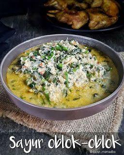 Diah Didi S Kitchen Oblok Oblok Daun Pepaya Resep Masakan Makanan Dan Minuman Resep Makanan