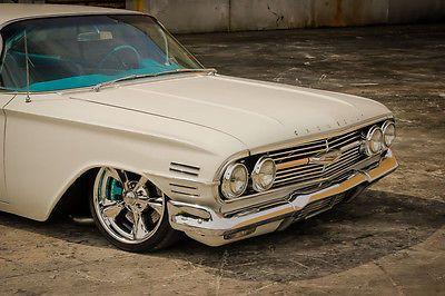 1960 Impala Ls3 Air Ride Accuair 1959 1958 1961 Bel Air Wagon 430hp Classic Cars Trucks Hot Rods Air Ride Impala