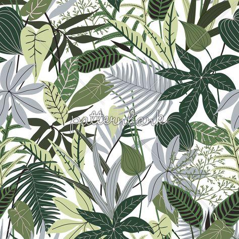 Jungle Leaf for Foliage Motif