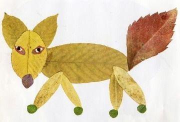 4 Tiernos Y Faciles Dibujos Con Hojas Secas Manualidades De Otono Para Ninos Artesanias De Otono Manualidades Infantiles