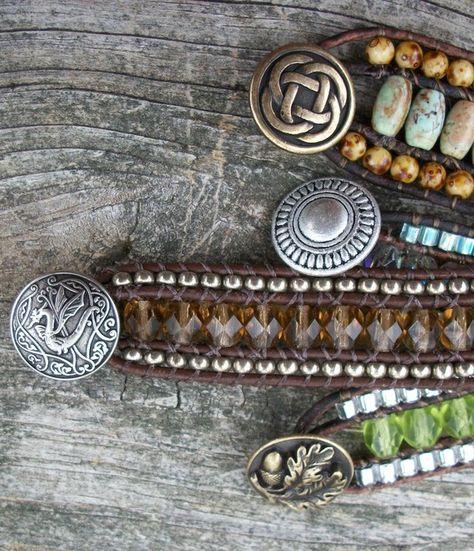 Triple Row AND Multi Wrap Leather Bracelet Tutorial