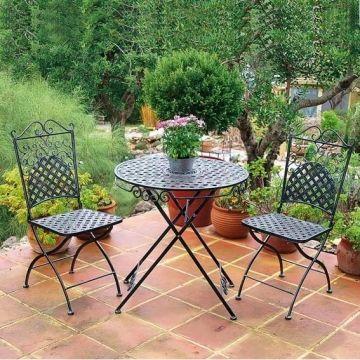 Sitzgruppe Marrakesch 2 Stuhle Tisch Sitzgruppe Gartenstuhle