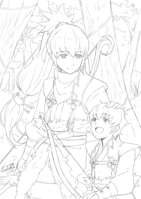 Fire Emblem: If/Fates - Takumi and Kisaragi