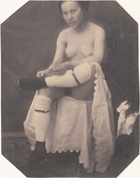 [Female Nude]  Circle of Louis-Adolphe Humbert de Molard  (French, 1800–1874)