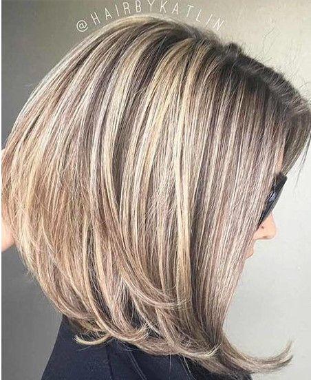 20 Medium Long Bob Hairstyles -  #hairstyles #medium #hair #hairstyles #haircare #haircolor #hairgrowth