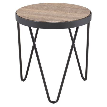 Home End Tables Grey Oak Table