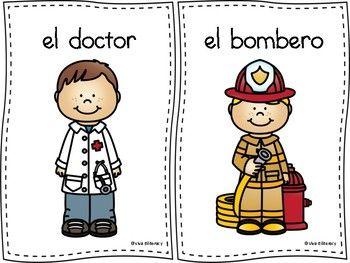This Resource Includes The Following Ten Community Workers El Doctor El Bombero La Enfermera Transitional Kindergarten Community Workers Teacher Newsletter