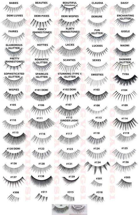 561b33ffa4f (Pick Any!) 10 Pairs Ardell False Eyelashes Fake Lashes Invisibands Fashion  Lot