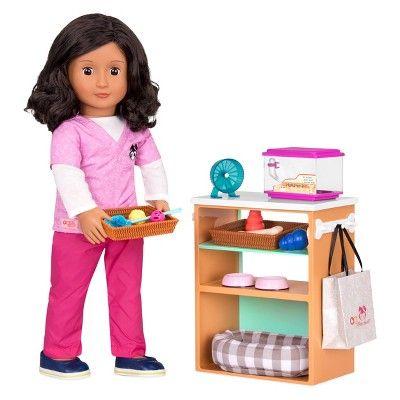 "Journey Girls Pet Grooming Set suitable for 18/""American  girl dolls"