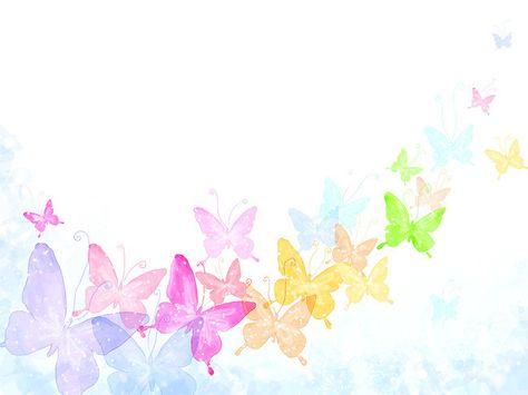 Material de Fundo de borboletas