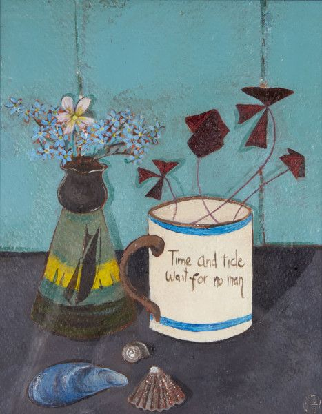 Jo Oakley, Forget me Not | Still life painting, Painting
