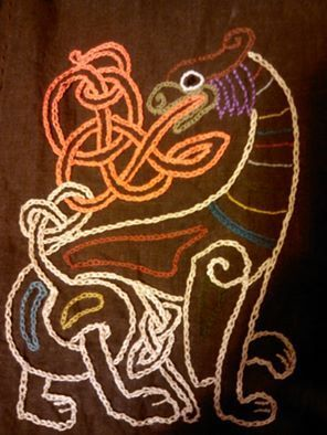 D40acb90201f45bc38a1bea56c4d3cc7 Jpg 296 394 Viking Embroidery Medieval Embroidery Viking Pattern