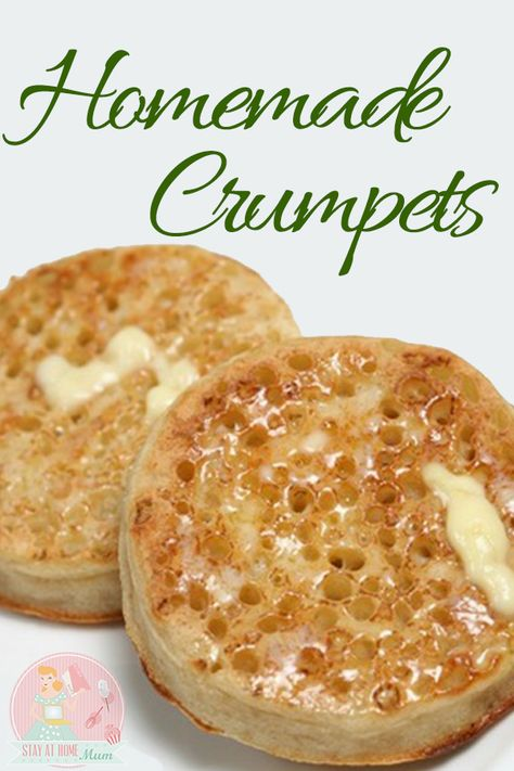 How to Make Homemade Crumpets