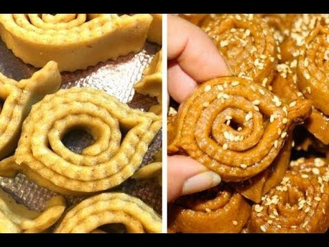 اروع شباكية في الفرن ناجحة مع اسهل طريقة تشباك وصفات رمضانية Chebakia Au Four Recette De Ramadan Youtube Moroccan Cookies Moroccan Food Eid Cake